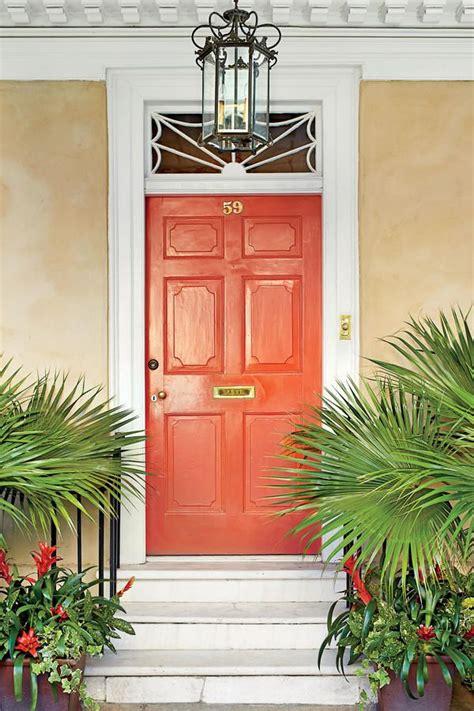 Entryway Color Schemes 25 Best Ideas About Orange Front Doors On Pinterest