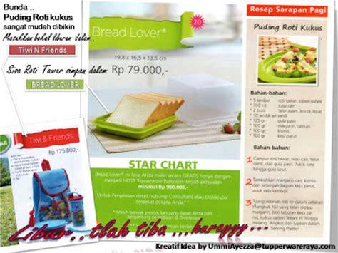 Tupperware Kukus tupperware raya puding roti kukus with bread lover