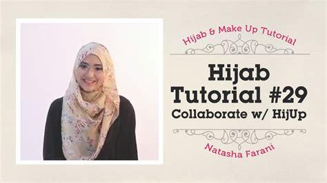 tutorial hijab segi empat natasha farani hijab tutorial natasha farani collaborated with hijup