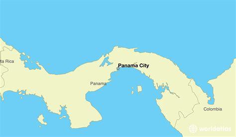 panama city panama map where is panama where is panama located in the world
