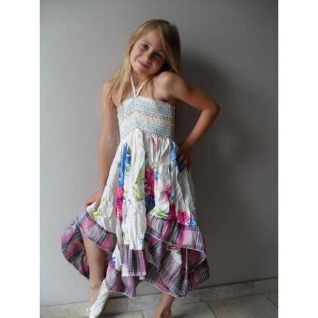 Robe Longue Fille Ete - robe asym 233 trique fille