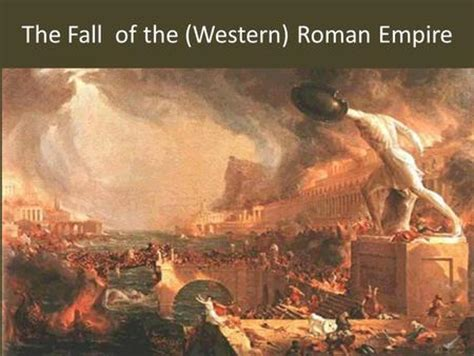 Essay On The Fall Of The Western Empire by Rome Dbq Answers Ppt