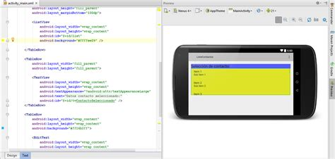 layout en java android funcionalidades en android studio editor de layout