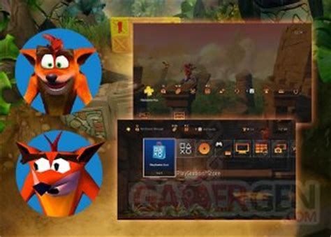 ps4 themes crash crash bandicoot n sane trilogy plus de d 233 tails sur les