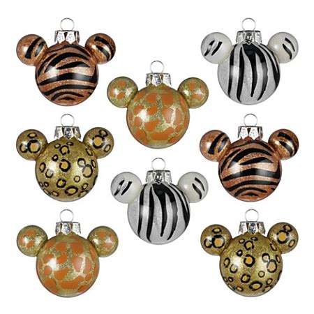 mickey mouse ears ornaments disney ornament set mickey mouse ears animal