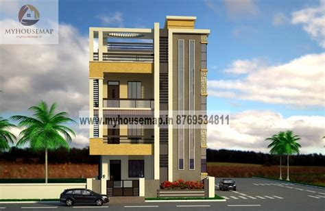 my house design modern elevation design of residential buildings front