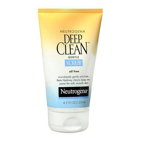 deep clean neutrogena deep clean gentle scrub reviews photos