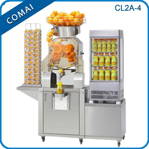 Dispenser Juice electric citrus juicer commercial automatic stainless