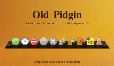 pidgin themes contact list old pidgin status icon theme by hundone on deviantart