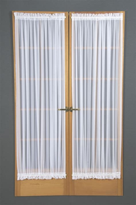 french voile curtain panels french voile door panel