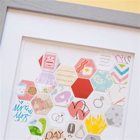 Wedding Card Keepsake by How To Make This Awesome Wedding Card Keepsake Frame