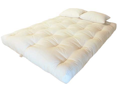 cotton wool futon mattress green cotton wool foam core dreamton futon best
