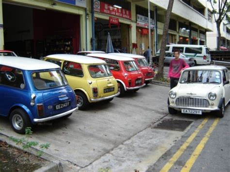 David Garage quot possibly the largest mini garage in singapore quot