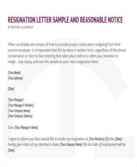 Resignation Letter Hotel Pdf 65 Sle Resignation Letters
