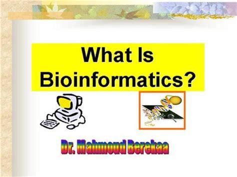 What Is Bioinformatics Authorstream Bioinformatics Ppt Templates Free