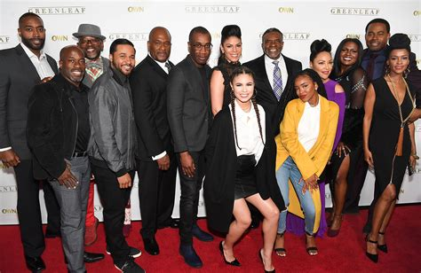 lori harvey griffin ga own network series greenleaf cast hosts private screening