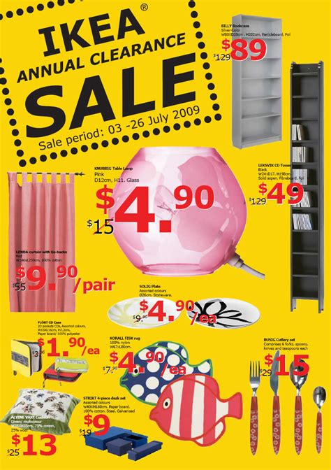 when does ikea have sales ikea annual clearance sale great deals singapore