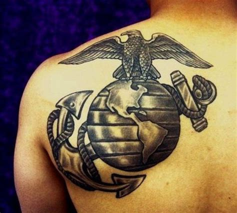 ega tattoo 1000 ideas about usmc tattoos on marine corps