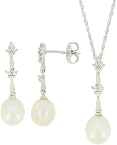 jcpenney jewelry cultured freshwater pearl gemstone