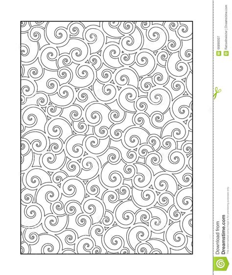 coloring book for adults amazing swirls coloring page for adults or black and white ornamental
