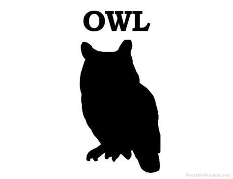 printable zoo animal silhouettes printable owl silhouette print free owl silhouette