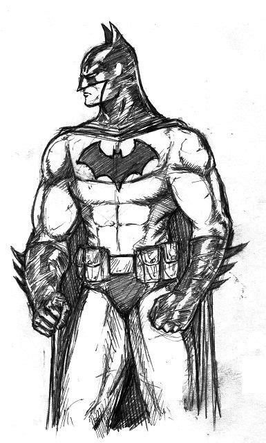 Batman By Kreatif Tinta by Tight Batman Sketch Zeichnen Ideen