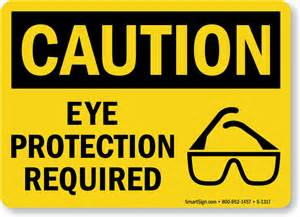 Floor Grinder by Wear Eye Protection Signs Custom Amp In Stock Templates