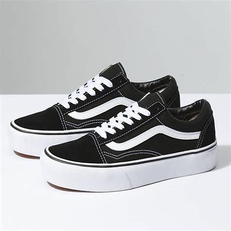 Ket Vans Oldskool skool platform shop shoes at vans