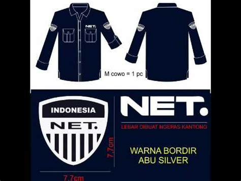 desain baju net tv model bajunet aneka model desain baju custom seragam model
