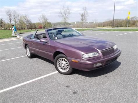 auto air conditioning repair 1995 chrysler lebaron parental controls find used chrysler lebaron gtc convertible 2 door 3 0l