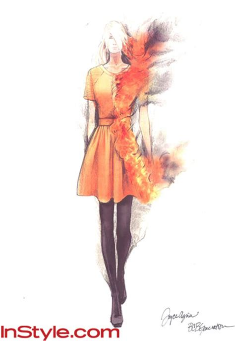 themes taken by fashion designers fashion designers sketch hunger games dress the oncoming