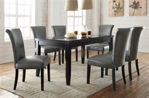 newbridge gray 7pc dining room set dallas tx dining room