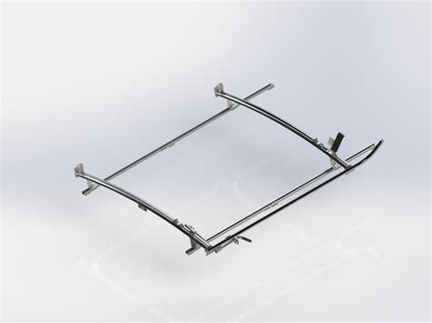 ram promaster ladder rack single side ranger ladder rack 2 bar system ram promaster 136 quot ranger design