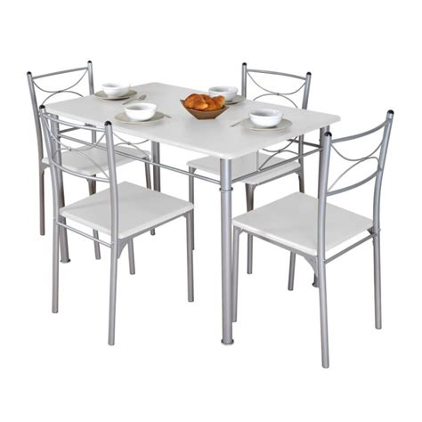 table cuisine avec chaise table et chaise de cuisine pas cher mobilier sur