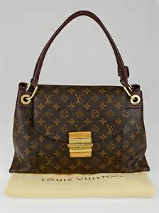louis vuitton bordeaux monogram canvas olympe bag yoogi