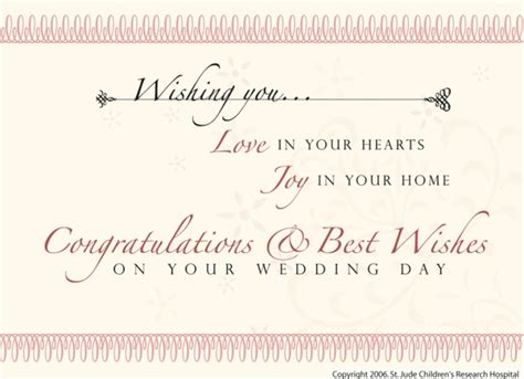 Marriage Gift Card Message - wedding card greeting messages wblqual com