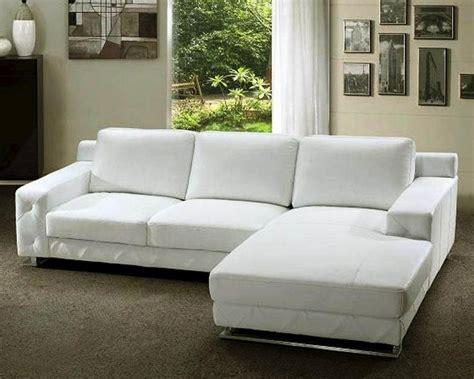 Modern White Leather Sofa Modern White Leather Sofas White Leather Sofa At A Glance Home Design