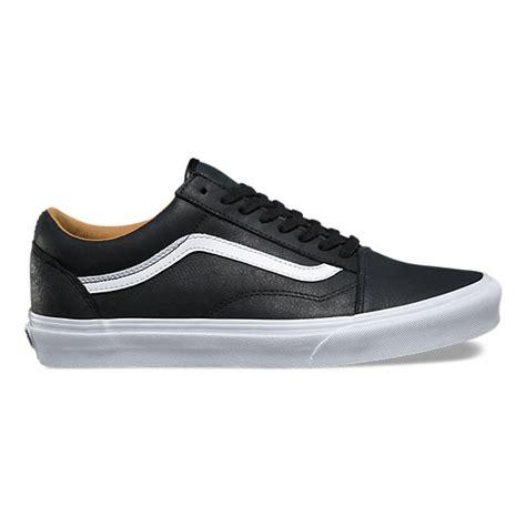 Vans Zapato Black Icc Premium premium leather skool shop shoes at vans