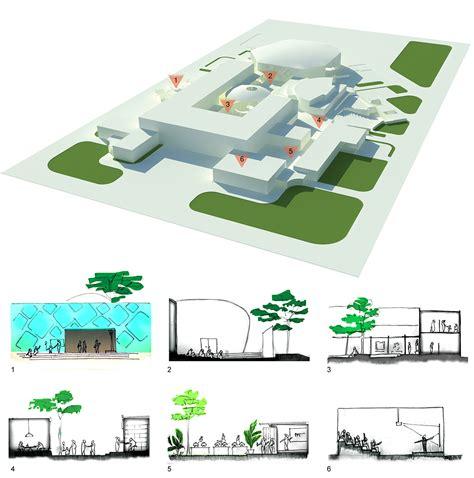 concept design vasant kunj sector a architectural thesis art cultural centre on behance
