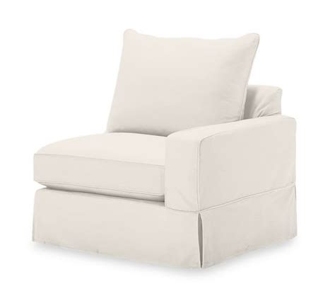 Pb Comfort Square Arm Sectional Component Slipcovers Square Arm Sofa Slipcover