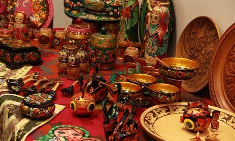 russian handicraft folk art  russia
