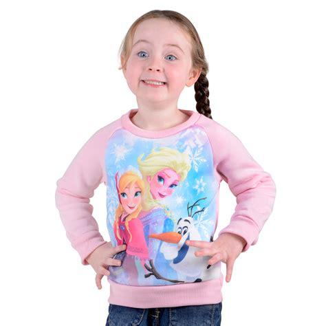 Sweater Frozen childrens official character jumper sweater hoodie