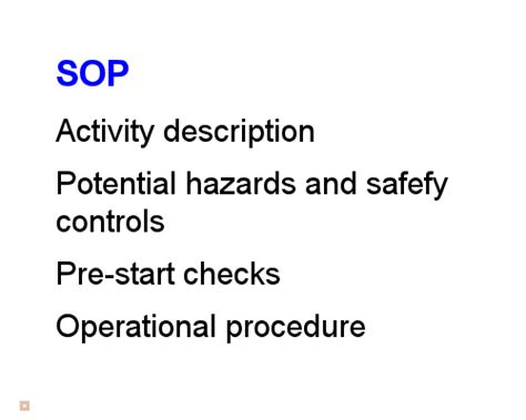section 1 4 tools and procedures safety at work safe work procedures safe operating