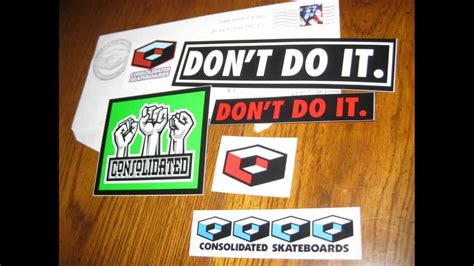 Free Stickers By Mail