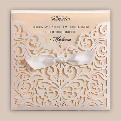 Planning Your Marriage with the Best Muslim Wedding Cards