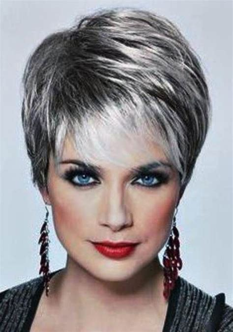 what hair color isright for a 60 year old woman 78 ideas about short grey haircuts on pinterest short