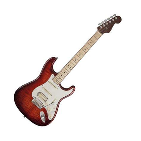 Gitar Fender Stratocaster 168 platen fender select stratocaster hss eksotiske farget