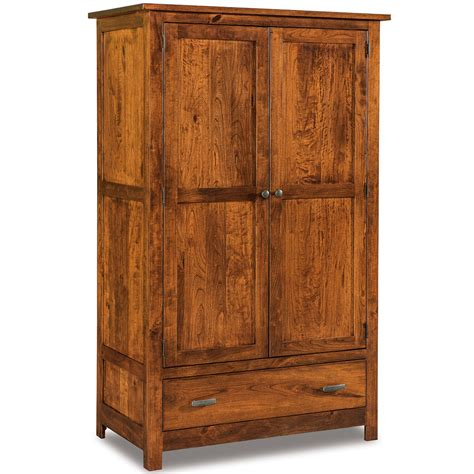 Mission Style Armoire Wardrobe Mission Style Cherry Prairie Mission Armoire On