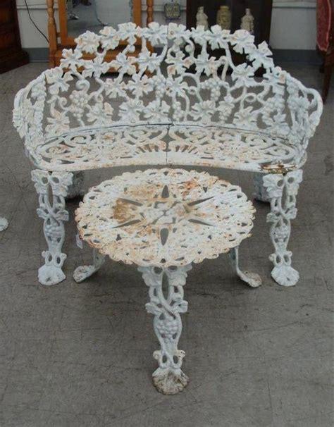 unique vintage cast iron patio furniture 6 antique cast