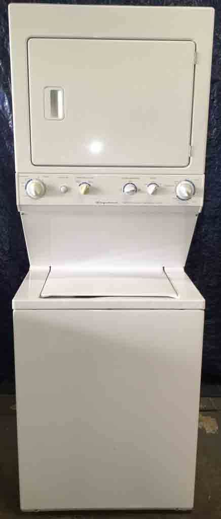 electrolux wavetouch series ew28bs85ks interior frigidaire stackable washer dryer frigidaire washer and